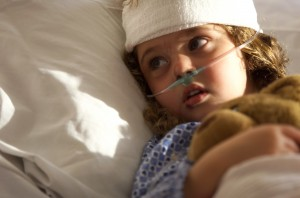 Los Angeles Birth Injury Lawyer - little girl with injury