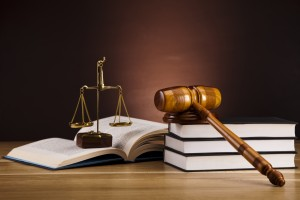 Santa Monica Disability Insurance Lawyer - law books and gavel