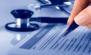 LA Medical Malpractice Attorney - stethoscope and claim form